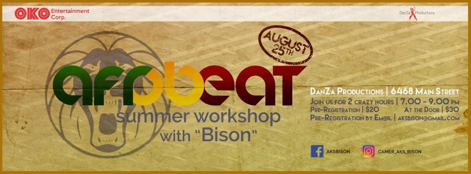 AfroBeat Aug. 25th