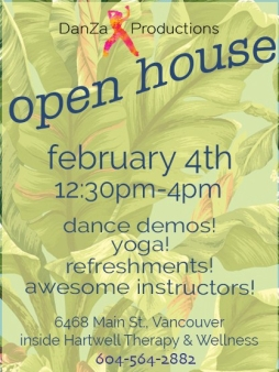 DanZa Productions Open House - February 2018
