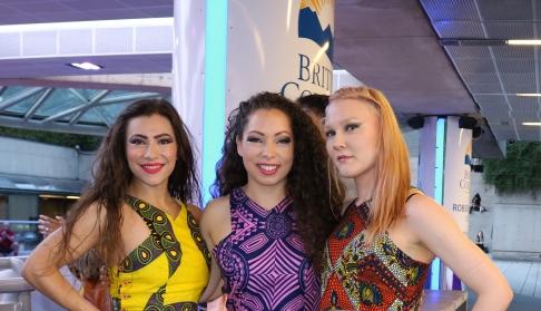 Tereza Paraschivescu, Celina M.V. Whiting, Tawni Krystal - DanZa Pro Team at Robson Square, June 2018