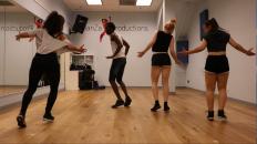 DanZa Productions studio - DanZa Pro Team rehearsal shot
