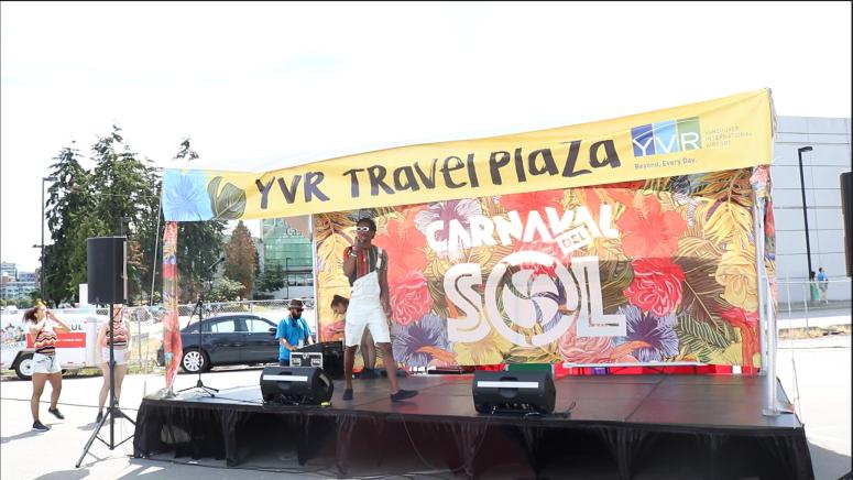 The DanZa Pro Team at Carnaval Del Sol