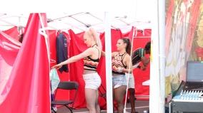 Tawni Krystal, Tereza Paraschivescu and Kleen Prinz Carnaval Del Sol