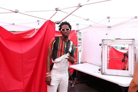 Jamaican artist Orlando, aka Kleen Prinz