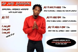 Up and Running Dancehall Aerobics Workshop with Orlando - July 2018