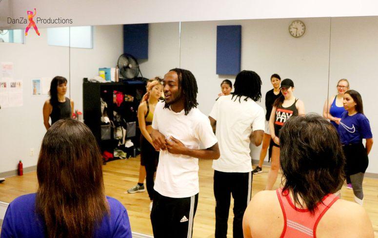 Izo Dreamchaser, of AfroBeat Dance Vancouver